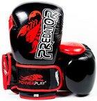 Боксерские перчатки PowerPlay 3007 Scorpio Series Black