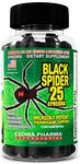 Cloma Pharma Black Spider 25 100 капсул
