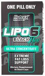 Lipo-6 Black Hers Ultra Concentrate Nutrex 60 капсул